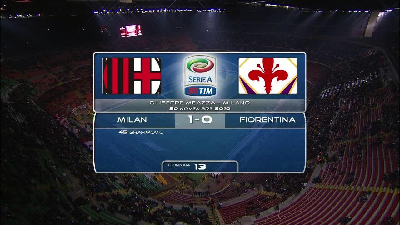 Video MILAN 1 - 0 FIORENTINA - Risultati e Highlights ...