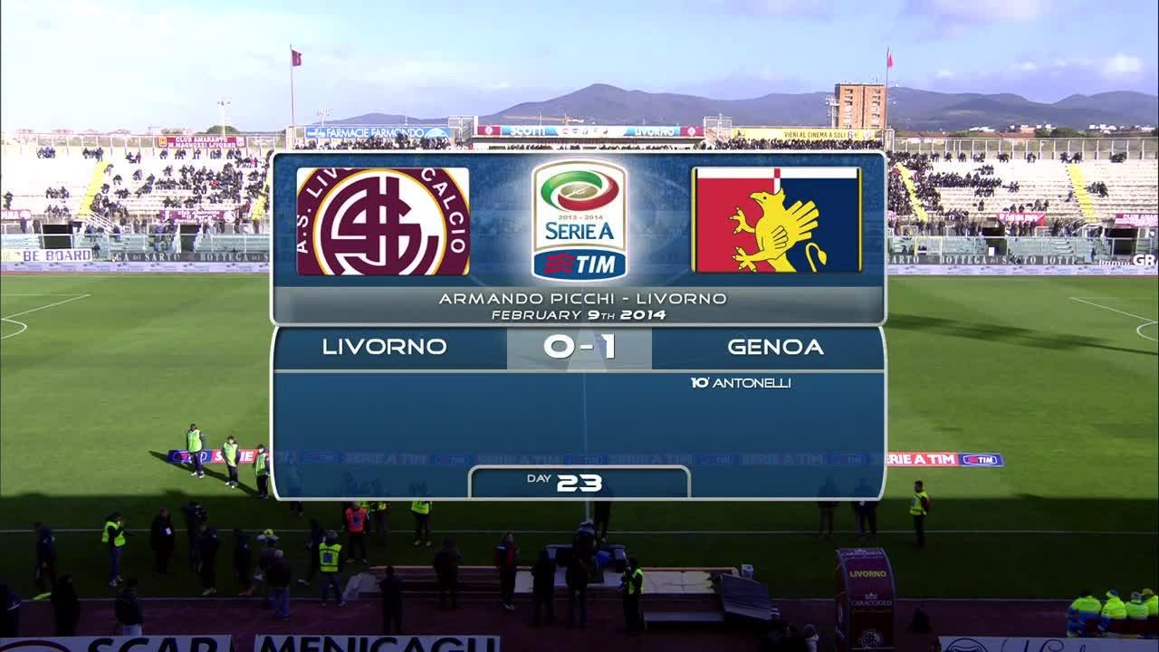Video LIVORNO 0 - 1 GENOA - Risultati e Highlights partita ...