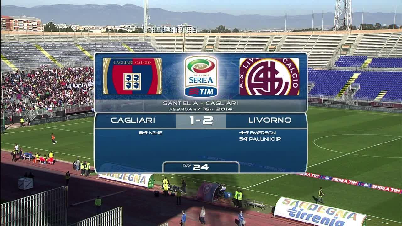 Video CAGLIARI 1 - 2 LIVORNO - Risultati e Highlights ...